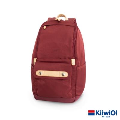 Kiiwi O! 實用尼龍系列 筆電/後背包 MAEVE 酒紅