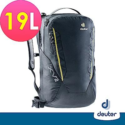 【deuter德國】 X-Venture XV1 19L多功能城市休旅背包3850218黑