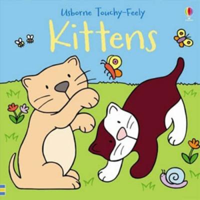 Touchy-Feely Kittens 小貓咪硬頁觸摸書