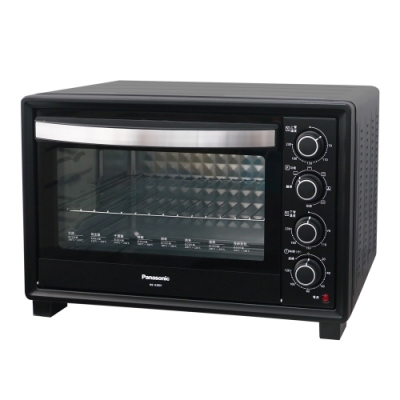 (4/13-15加碼送5%超贈點)Panasonic國際牌38L雙溫控發酵烘焙電烤箱 NB-H3801