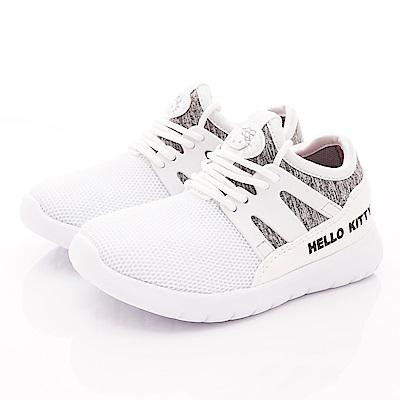 HelloKitty童鞋 時尚休閒運動鞋款 SE19814白(中小童段)
