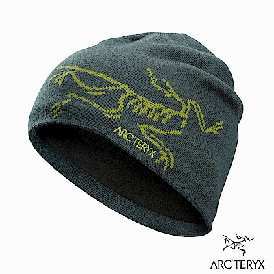 Arcteryx Bird Head 保暖針織毛帽 獵戶綠/橄欖黃