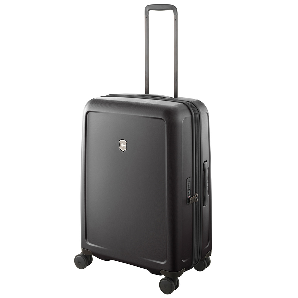 VICTORINOX 瑞士維氏CONNEX 可擴充26吋硬殼行李箱-黑