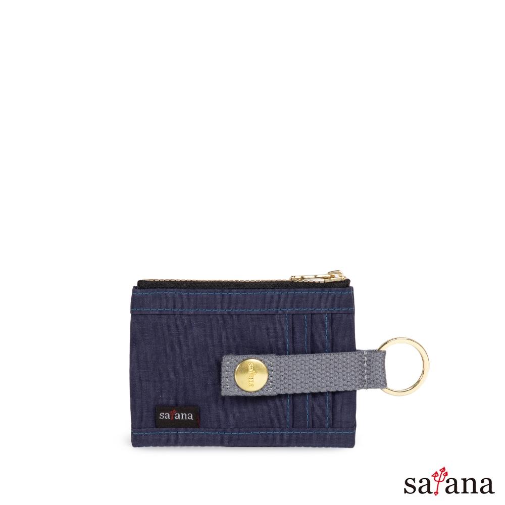 satana - Soldier 繽紛卡片夾/零錢包 - 琉璃藍