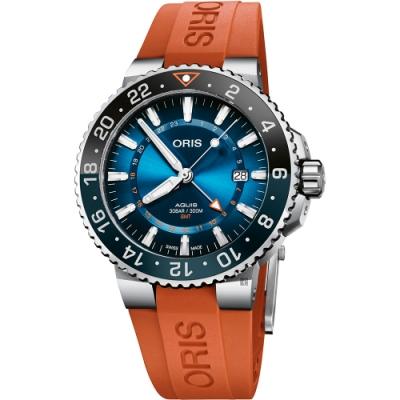 Oris豪利時 卡里斯福特礁限量錶 0179877544185-SetRS
