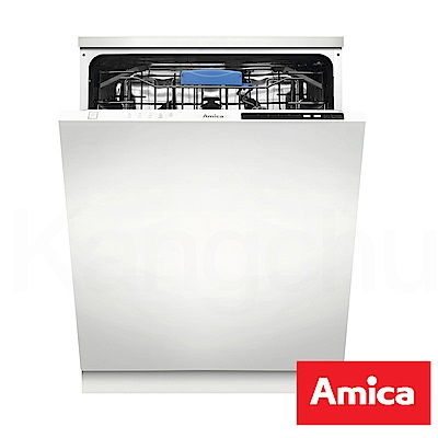 Amica 波蘭進口 ZIV- 615 T 冷凝烘乾五種行程 12 人份全崁式洗碗機(不含安裝)