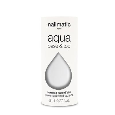 法國 Nailmatic 水系列經典指甲油 - Base Top 2合1 - 8ml