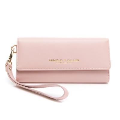 Arnold Palmer- 三折式長夾附手挽帶 Ton(時髦)系列-粉色