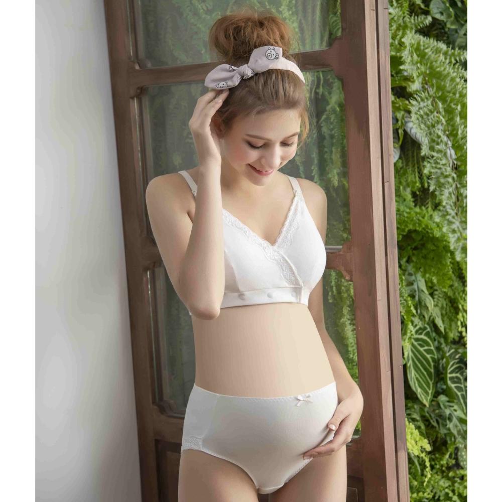寶貝媽咪-懷孕兼用 D-G罩杯孕婦內衣(白)