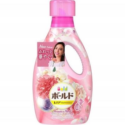 日本進口【P&G】 Happiness Bold 洗衣液850g 精油花香