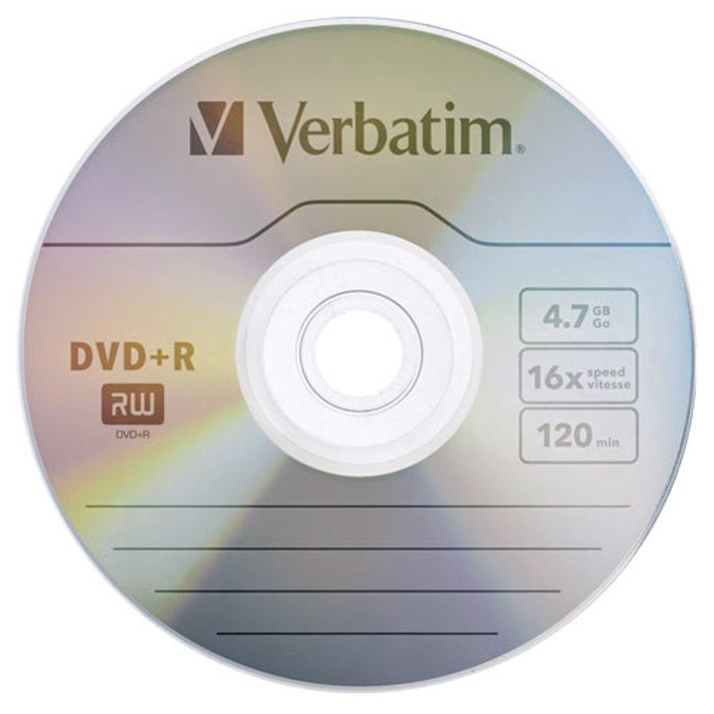 Verbatim 威寶 AZO 銀雀版 16X DVD+R 4.7GB 燒錄片 50片