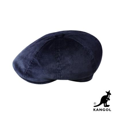 KANGOL-HAWKER 燈芯絨鴨舌帽-深藍色