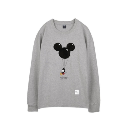 野獸國 迪士尼 經典米奇系列_米奇氣球款_長袖T恤