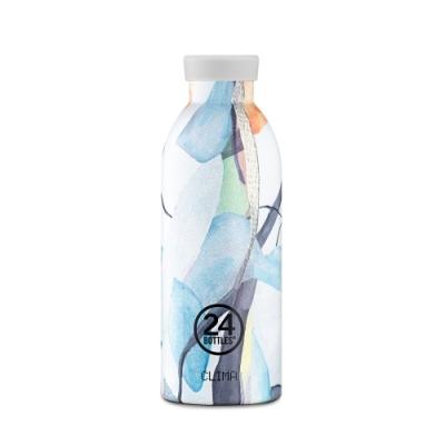 義大利 24Bottles 不鏽鋼雙層保溫瓶 500ml (附濾茶器) - 雲彩