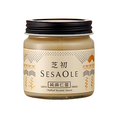 芝初 無加糖純麻仁醬170G