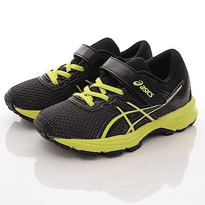 asics競速童鞋 高緩衝機能運動款 SE41N-9077灰黑(中小童段)