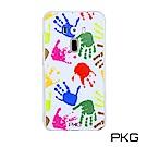 PKG ASUS Zenfone3 5.5吋 彩繪空壓氣囊保護殼-浮雕彩繪-繽紛手掌