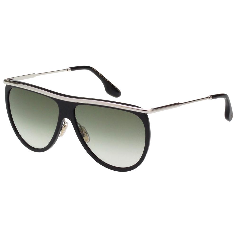Victoria Beckham維多利亞貝克漢 太陽眼鏡 (黑+銀色)VB155S