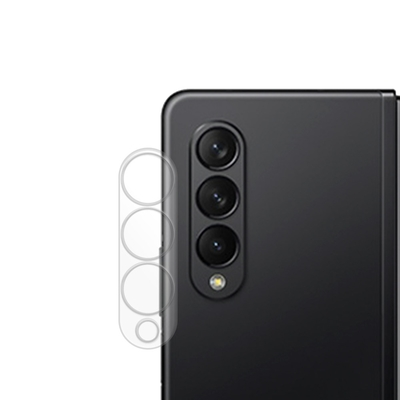 Metal-Slim Samsung Galaxy Z Fold 3 5G 全包覆 3D弧邊鋼化玻璃鏡頭貼