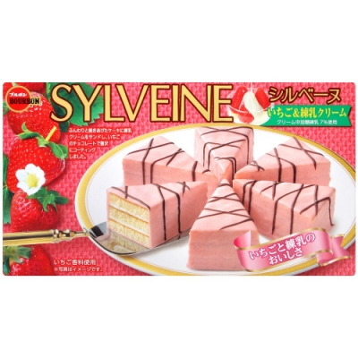 Bourbon北日本 三角煉乳草莓蛋糕(120g)