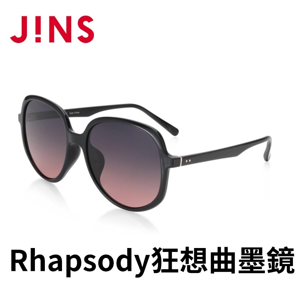 JINS Rhapsody 狂想曲ARTISTIC CHIC墨鏡(ALRF21S054)黑色