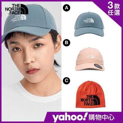 【The North Face】YAHOO 限時優惠-北面熱銷吸濕排汗休閒帽款(3款任選)