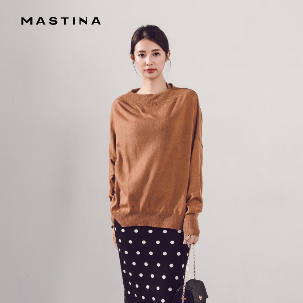 【MASTINA】圓領飛鼠袖-針織衫(三色)