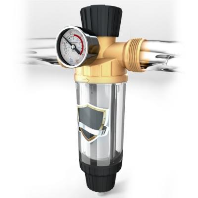 【MS】反沖洗304不鏽鋼水質過濾器(免更換濾心)