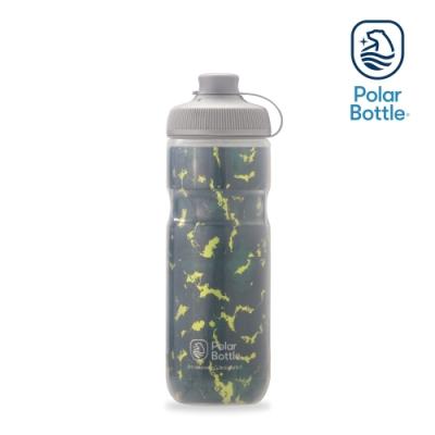 【Polar Bottle】20oz MUCK 雙層保冷噴射水壺 SHATTER 森綠