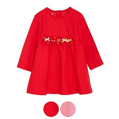 WHY AND 1/2 mini 高腰亮蔥洋裝 1Y~4Y 多色可選