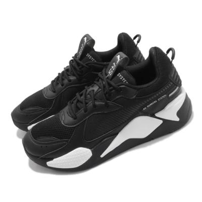 Puma 休閒鞋 RS-X Pop 厚底 微增高 男女鞋 流行款 穿搭 百搭 情侶球鞋 緩震 黑 白 38046102