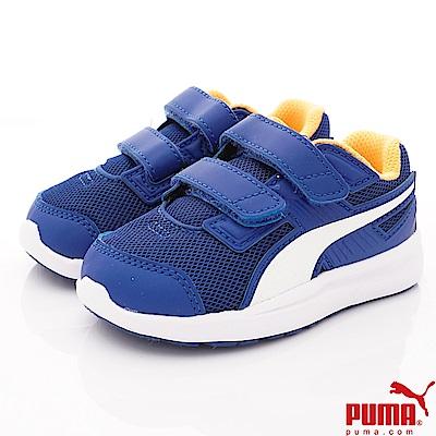 PUMA童鞋 雙絆帶透氣休閒款 ON90327-10藍(小童段)
