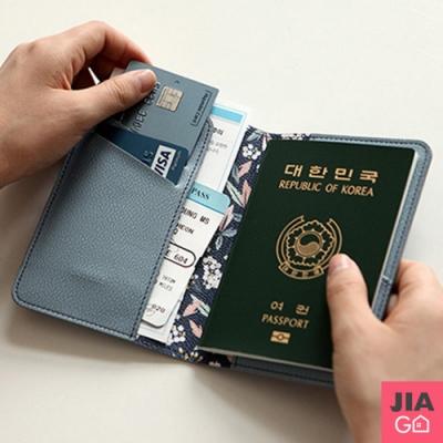 JIAGO 仿皮護照短夾