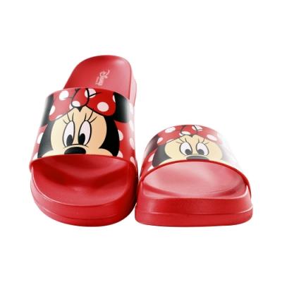 魔法Baby 女鞋 台灣製迪士尼米妮授權正版新潮時尚拖鞋sd3085