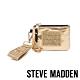 STEVE MADDEN-BRICHIE 時尚潮流款 字母零錢包-金色 product thumbnail 1