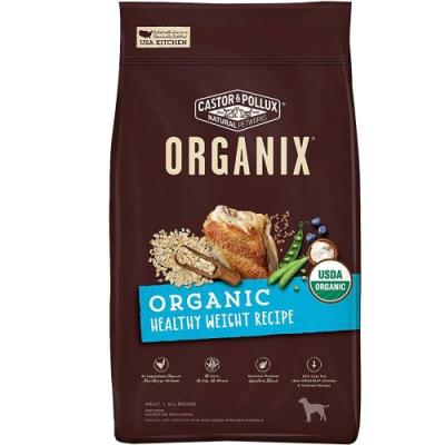 (2入組) Organix 歐奇斯有機飼料[95%有機室內犬]-4LB/1.81KG