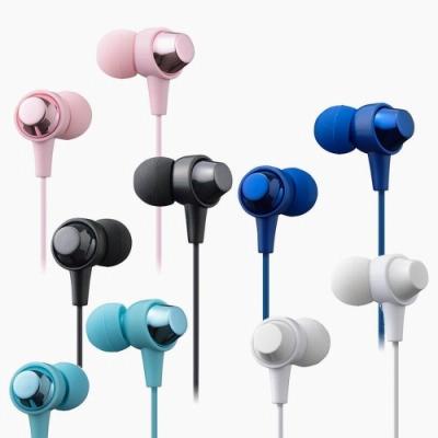 [福利品]Hitachi Maxell 日立 多彩耳道式耳機MXH-C110隨機色(散裝出清)