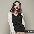 H:CONNECT 韓國品牌  女裝 -開襟素面輕量外套-白(快)