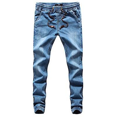 BuyGlasses 抽繩 牛仔縮口 束口褲 慢跑褲