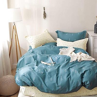 La Lune 頂級精梳棉200織紗雙人床包3件組 拾影