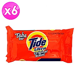 美國Tide 洗衣皂-經典原味(130g)-6入組