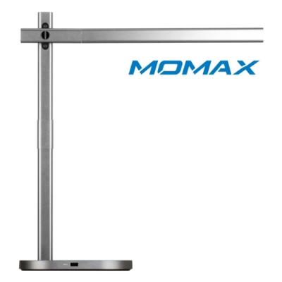 MOMAX Q.Led 檯燈&無線充電底座10W(QL1A)-灰
