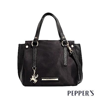 PEPPER`S Blake 個性尼龍手提包 - 黑