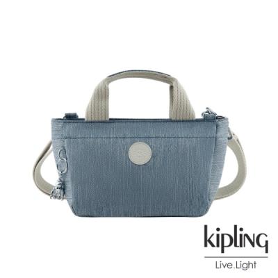 Kipling 淺色丹寧藍手提兩用斜背包-SUGAR S II