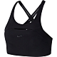 NIKE 訓練 慢跑 健身 瑜珈 運動內衣 黑 女款 CJ0734010 AS SWOOSH BRA PAD SHDW ST product thumbnail 1