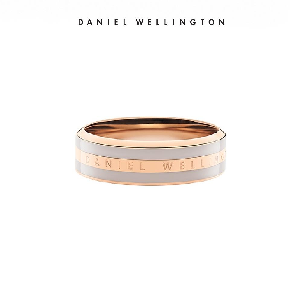 DW 戒指 Classic Ring 經典奢華戒指 玫瑰金x沙漠灰