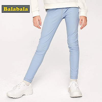 Balabala巴拉巴拉-彈性修長穿著合身褲-女(3色)