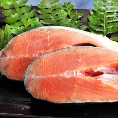 (滿899免運)【上野物產】阿拉斯加秋鮭(100g土10%/片) *1片