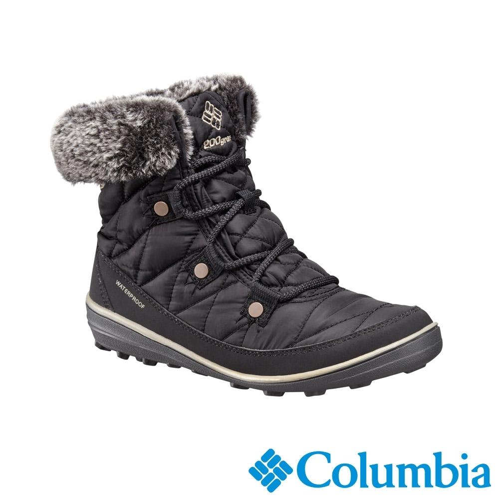 Columbia 哥倫比亞 女款- Omni TECH防水鋁點保暖雪靴黑