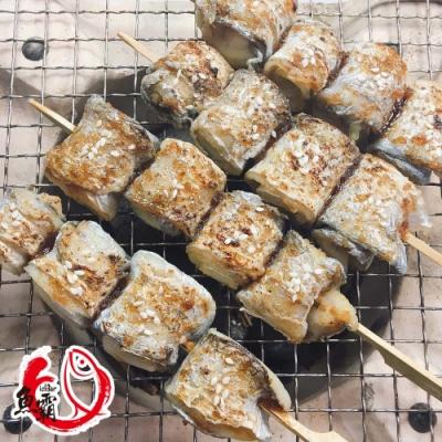 【魚博士-魚霸】野生現撈白帶魚清肉捲花300g(3包入)